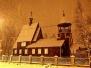 Литургия архиерейским чином в Покровском храме г.Новодвинска