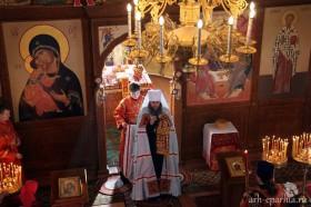 В Светлый Вторник митрополит Даниил посетил Новодвинск