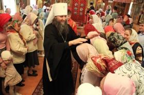 Литургия в день Покрова Пресвятой Богородицы