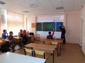Встреча в коррекционной школе г.Новодвинска