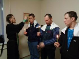 Таинство Крещения в Ширшинском интернате