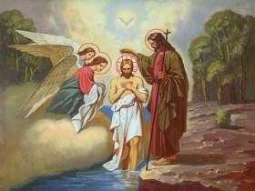 Крещение Господне и Великое освящение воды