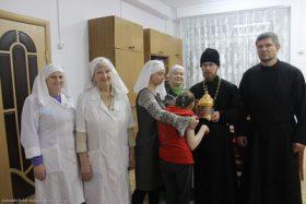 Пребывание ковчега с частицей хитона Господа в Новодвинске