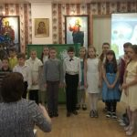 Рождественский утренник объединил семьи Покровского прихода Новодвинска
