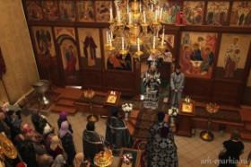 Литургия Преждеосвященных даров в день «Стояния Марии Египетской»