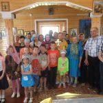 Престольный праздник отметили в Храме на летнем берегу Белого моря
