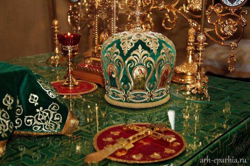 Митрополит Архангельский и Холмогорский Даниил совершит Божественную литургию в День Святого Духа в Новодвинске